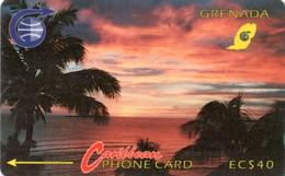 *GRENADA - 3CGRE* - Scheda Usata - Grenada