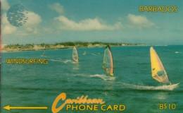 *BARBADOS - 15CBDA* -  Scheda Usata - Barbados