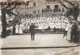PHOTOGRAPHIE ANCIENNE : CAHORS VOYAGE PRESIDENTIEL PRESIDENT POINCARE CHORALE POLITIQUE 46 LOT - Cahors