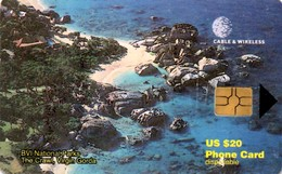 *BRITISH VIRGIN ISLANDS* - Scheda A Chip Usata - Virgin Islands