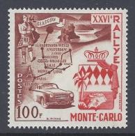 MONACO 1956 26º RALLYE MONTE CARLO Nº 441 - Ongebruikt
