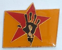 Pin's RARE MANO NEGRA MUSIQUE - Muziek