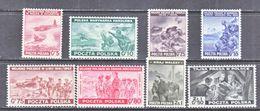 POLAND  EXILED  GOV.  3K 9-16   ** - 1939-44: World War Two