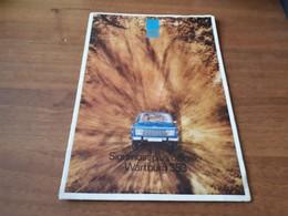 Old Transport Brochure - Wartburg 353 - Publicités