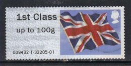 GB 2012 QE2 1st Post & Go Up To 100 Gms Union Flag ( R722 ) - Great Britain