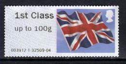 GB 2012 QE2 1st Post & Go Up To 100 Gms Union Flag Unused No Gum ( J933 ) - Great Britain
