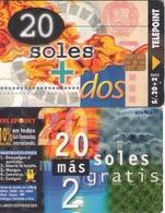 TARJETA TELEFONICA DE PERU. TIRADA 20000 (341) - Peru