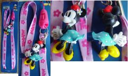"""Neck Strap """" Minnie Mouse """" - Charms"""