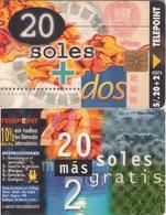TARJETA TELEFONICA DE PERU. TIRADA 20000 (342) - Peru