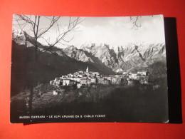 CARTOLINA   MASSA CARRARA  LE ALPI APUANE  DA S CARLO TERME     C-  273 - Carrara
