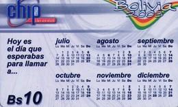 TARJETA TELEFONICA DE BOLIVIA. (004) - Bolivia