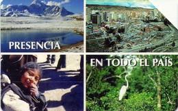 TARJETA TELEFONICA DE BOLIVIA. (012) - Bolivia