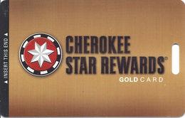 Cherokee Casinos Oklahoma - Slot Card - Copyright 2011 BLANK - Casino Cards