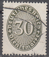 GERMANY   SCOTT NO.  077   USED      YEAR  1927 - Dienstpost