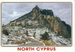 Saint Hilarion Castle,Kyrenia Mountain Range, In Northern Cyprus.,postcard Addressed To ANDORRA - Cyprus