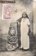 DJIBOUTI TYPE DE FEMME JUIVE JUDAÏCA + TIMBRE CACHET COTE FRANCAISE DES SOMALIS ETHNOLOGIE ETHNIC JUDAÏCA JEWISH JEW - Dschibuti