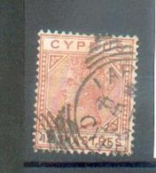 D196 - CHYPRE - YT 22 Pl 1 ° Obli - Zypern (...-1960)