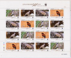Macau 2011 50 Years Of Anniversary Of WWF Full Sheet - 1999-... Chinese Admnistrative Region