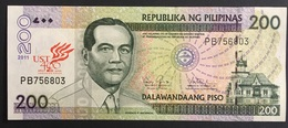 Banknote Philippines 2011 - 200 Pesos, UST 400th Years - Philippines