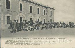 84)  LE MONT  VENTOUX - La Terrasse De L' Observatoire - Le 20 Septembre 1903  Jour De Courses Automobiles - France