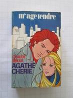 """BD2006 : RARE Année 1969 Littérature De """"filles"""" Melle AGE TENDRE / AGATHE CHERIE Par CLAUDE """"Carbonisé"""" BRULE  , Livre - Altri"""