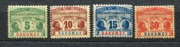 6474  DAHOMEY  Taxe N° 1/3*, 5*  1906       TB - Nuevos