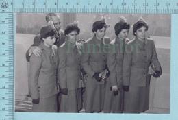 """Les Quintuplées Dionne # 26 -CPM  """" Jumelles Dionne""""  Né En 1934,  Ont, Canada, Reproduction - Femmes Célèbres"""