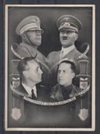 """Dt.Reich Propagandakarte """"Militärbündnis Deutschland-Italien 22.Mai 1939"""" EF 516 Mit Tages-o Berlin 1.Tag 22.5.39 - Germania"""