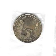 * Médaille  Touristique  2015   Monnaie  De  Paris, PATRIMOINE  MONDIALE, LE  HAVRE  ( 76 ) - Monnaie De Paris