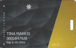 Cherokee Casinos OK - Slot Card - P725019-1 Over Mag Stripe - Casino Cards