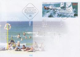 Enveloppe  FDC  1er  Jour   ESTONIE   EUROPA   2004 - 2004