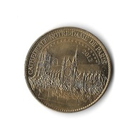 * Médaille  Touristique  2012  CATHEDRALE  NOTRE  DAME  DE  PARIS  Verso  AVE  MARIA  GRATIA  PLENA  Recto  Verso - Tourist