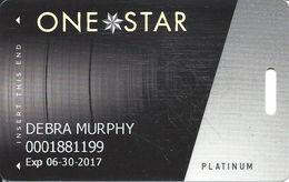 Cherokee Casinos OK - Slot Card - LVP758819-2 Over Mag Stripe - Casino Cards