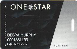 Cherokee Casinos OK - Slot Card - LVP758829-2 Over Mag Stripe - Casino Cards