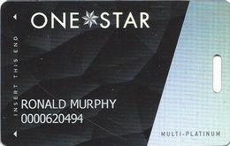 Cherokee Casinos OK - Multi-Platinum Level Slot Card - LVP758829-3 Over Mag Stripe - Casino Cards