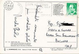 TIMBRO SU CARTOLINA: COPA DEL MUNDO DE GOLF WORLD CUP GOLF 5-19/11/89 MARBELLA  (369) - Spagna