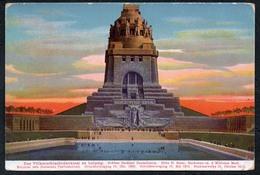 A8797 - Völkerschlachtdenkmal Denkmal Leipzig - Karl Finkenscher - Monuments