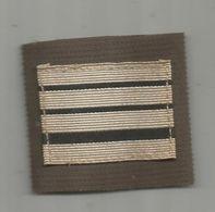 MILITARIA , Grade , Commandant, Velcro - Uniformes