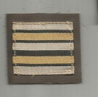MILITARIA , Grade , Lieutenant Colonel, Velcro - Uniformes