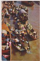 ASIE,ASIA,THAILANDE,THAILAND,floating Market,WAT SAI,prés BANGKOK,magasin Sur L'eau,rare,métier - Thaïlande