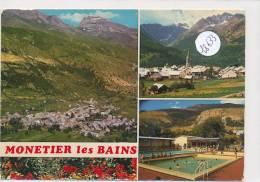 CPM GF  -18633 -05- Monetier Les Bains - Multivues - Autres Communes