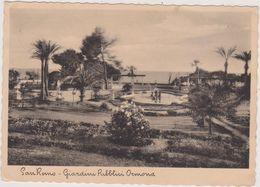 Italie,italia En 1935,liguria,ligurie,imperia,SANREMO,SAN REMO,giardini Pubblici Ocmond,tampon Ristorante Damilano - Imperia