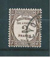 Timbre Taxe De France 1927/31  N°62  Oblitérés Cote 30€50 Tres Beau - 1859-1955 Gebraucht