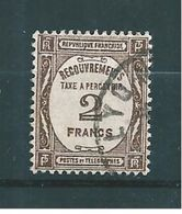 Timbre Taxe De France 1927/31  N°62  Oblitérés Cote 30€50 Tres Beau - Taxes