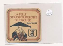 AC ( Sous-Bocks)  - B3275 -La Belle Strasbourgeoise De Fischer ( Bière) - Beer Mats