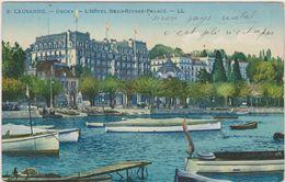 SUISSE,HELVETIA,SWISS,SCHWEIZ,SVIZZERA,SWITZERLAND ,VAUD,lausanne,LOSANNA,Ou Chy 1934,hotel Beau Rivage,palace,lac,rare - VD Vaud