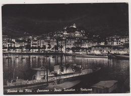 Italie,italia,liguria,ligurie,IMPERIA,SAN REMO,SANREMO EN 1957,riviera Des Fleurs,port De Tourisme,harbour,hafen,rare - Imperia