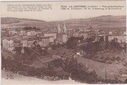 07 La Louvesc Vue Panoramique  D'annonay  Et De Dunieres - La Louvesc