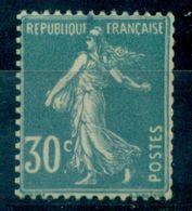 FRANCE SEMEUSE N°192 Type 2c ROULETTE N Xx Signé R Calves Cote : 400 € TB RRR - Variétés: 1921-30 Neufs