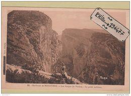 04 Environs De Moustiers - Cpa / Les Gorges Du Verdon - Le Point Sublime. - Unclassified